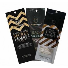 12 Tan Incorporated Black Chocolate Packets