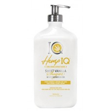 Hemp IQ Sweet Vanilla Sugar Body Moisturizer 18.25 oz