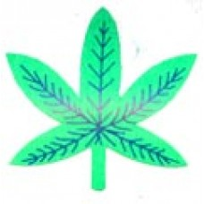 Hemp Leaf Stickers