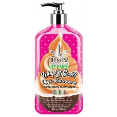 Hempz Maple Buttercream Herbal Body Moisturizer 17 oz