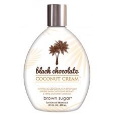 Black Chocolate Coconut Cream Tanning Lotion by Tan Inc 13.5 oz