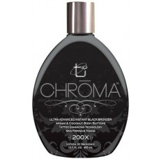 Chroma 200X Black Bronzer Tanning Lotion 13.5 oz