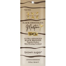 Double Dark Black Chocolate Martini Black Bronzer Packet