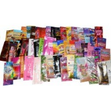 50 Assorted Tanning Lotion Packets