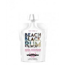 Tan Asz U BEACH BLACK RUM Double Shot 400X  Bronzer 3.4 oz Pouch