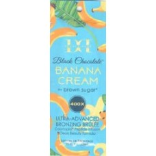 Black Chocolate Double Dark Banana Cream 400X Packet