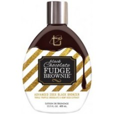 Black Chocolate Fudge Brownie 200 X Bronzer Tanning Lotion 13.5 oz