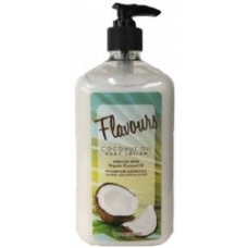Flavours Coconut Oil Moisturizer Body Lotion 18 oz