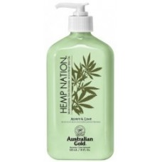 Hemp Nation Agave and Lime Body Lotion 18 oz