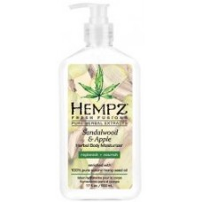 Hempz Sandalwood and Apple Body Moisturizer 17 oz