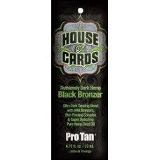 House of Cards Dark Hemp Black Bronzer Packet