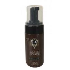 LA Tan Sunless Mousse Black Bronzer 2.5 oz.