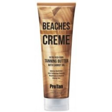 Pro Tan Beaches and Creme Ultra Rich Dark Tanning Butter 8.5 oz