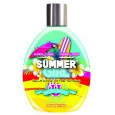 Tan Asz U Summer Girl Blissfully Dark Tanning Lotion 13.5 oz