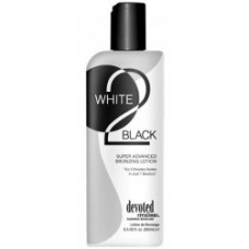 White 2 Black Tanning Lotion By Devoted Creations 8.5 oz