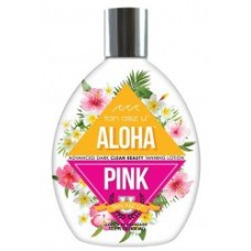 Tan Asz U ALOHA PINK Advanced Dark Clean Beauty Tanning Lotion 13.5 oz