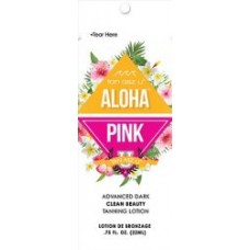 Aloha Pink Advanced Dark Tanning Lotion Packet