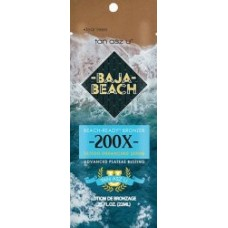 Tan Asz U BAJA BEACH Advanced 200X Bronzer Packet