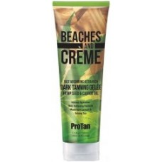 Pro Tan Beaches and Creme Dark Tanning Hemp Gelee 8.5 oz