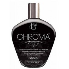 Chroma 200X Black Bronzer Tanning Lotion 13.5 oz.
