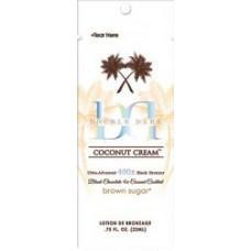 DOUBLE DARK COCONUT CREAM 400X Black Bronzer Packet