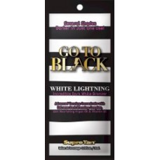 Go To Black White Lightning White Bronzer Packet