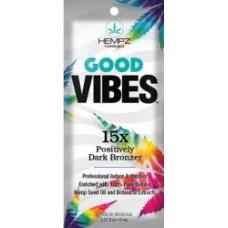 Hempz Good Vibes 15X Dark Bronzer Packet