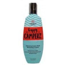 Hempz HAPPY CAMPERZ Dark Bronzing Tanning Lotion 8.5 oz