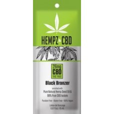 Hempz and CBD Black Bronzer Packet