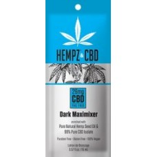 Hempz and CBD Maximizer Packet