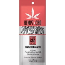 Hempz and CBD Natural Bronzer Packet