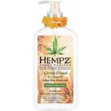 HEMPZ CITRINE CRYSTAL and QUARTZ MOISTURIZER 17 oz