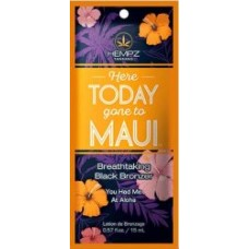 Hempz Here Today Gone to Maui Black Bronzer Packet