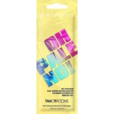Tanovations OH PALE NO Bronzer Free Silicone Tanning Lotion Packet
