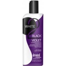 Devoted Creations WHITE 2 BLACK VIOLET Bronzer Lotion 8.5 oz